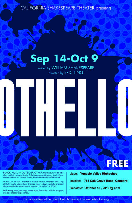 See Othello for Free at YV!